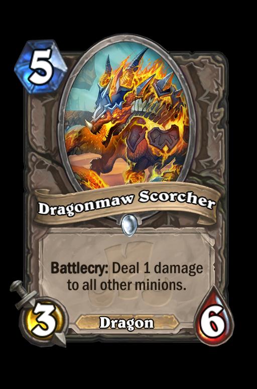 Dragonmaw Scorcher Hearthstone kártya