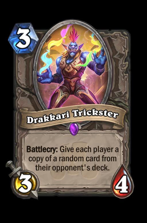 Drakkari Trickster Hearthstone kártya