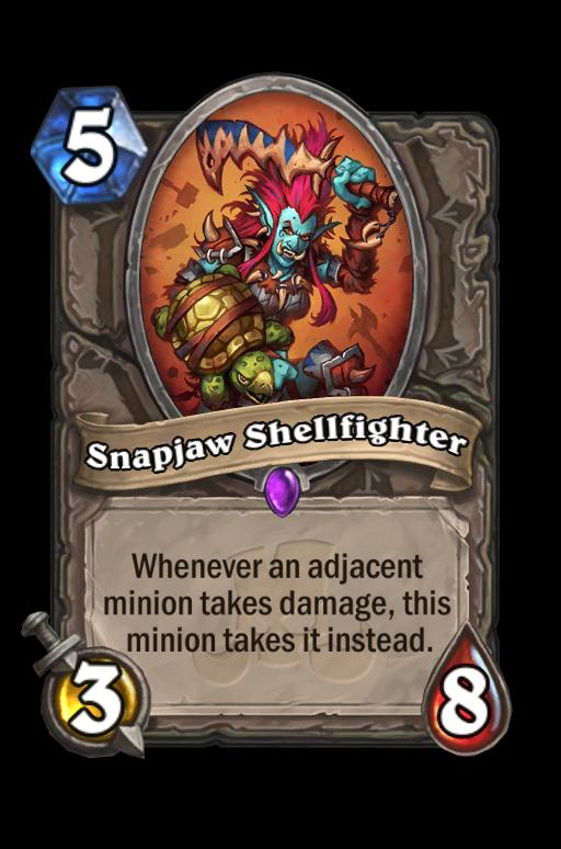 Snapjaw Shellfighter Hearthstone kártya