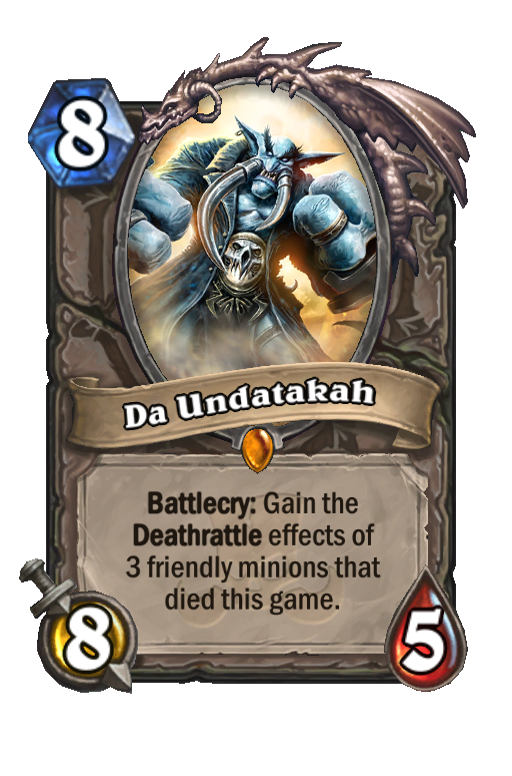 Da Undatakah Hearthstone kártya