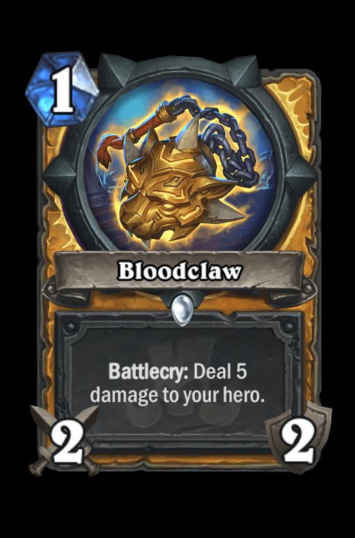 Bloodclaw Hearthstone kártya