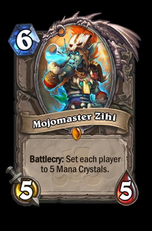 Mojomaster Zihi Hearthstone kártya