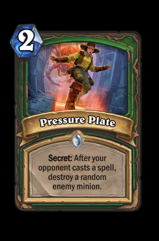 Pressure Plate Hearthstone kártya