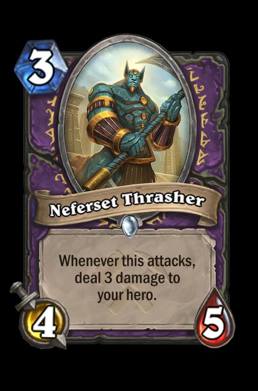 Neferset Thrasher Hearthstone kártya