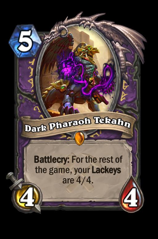 Dark Pharaoh Tekahn Hearthstone kártya