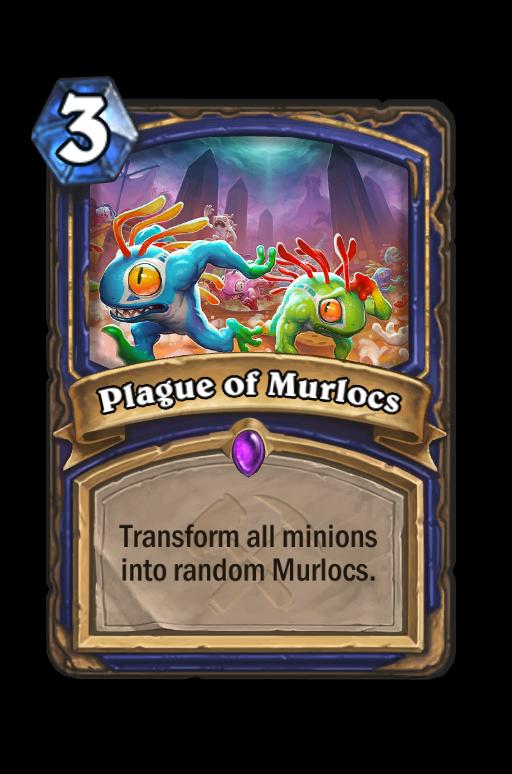 Plague of Murlocs Hearthstone kártya
