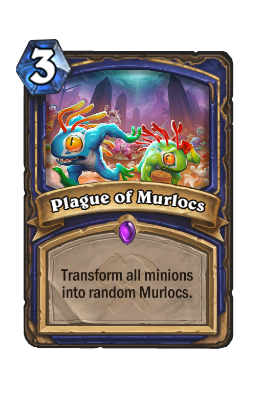 Plague of Murlocs Hearthstone kártya