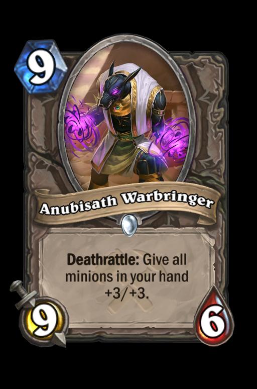Anubisath Warbringer Hearthstone kártya