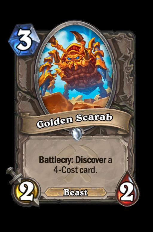 Golden Scarab Hearthstone kártya