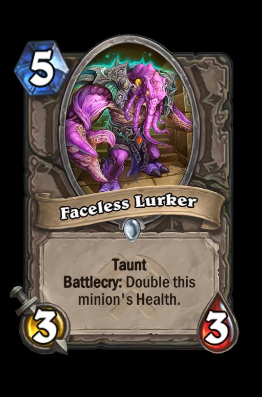 Faceless Lurker Hearthstone kártya
