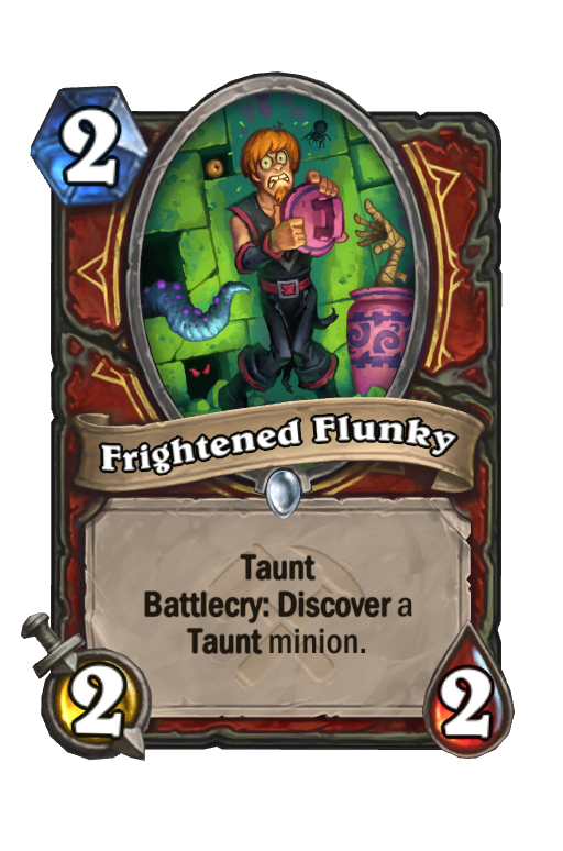 Frightened Flunky Hearthstone kártya
