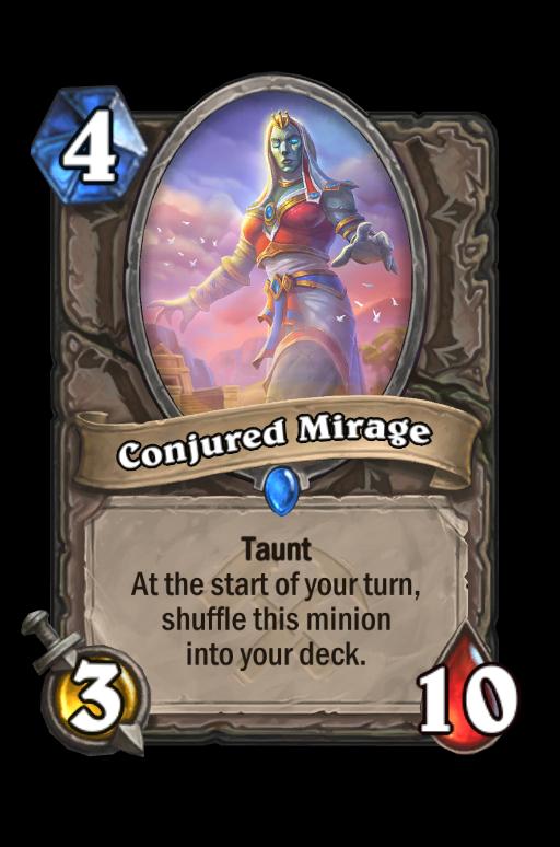 Conjured Mirage Hearthstone kártya