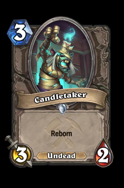 Candletaker Hearthstone kártya