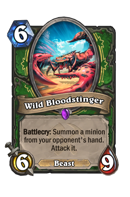 Wild Bloodstinger Hearthstone kártya