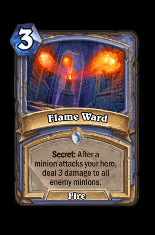 Flame Ward Hearthstone kártya