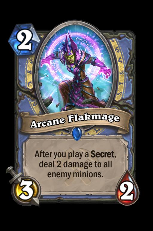 Arcane Flakmage Hearthstone kártya