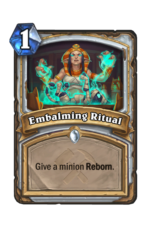 Embalming Ritual Hearthstone kártya