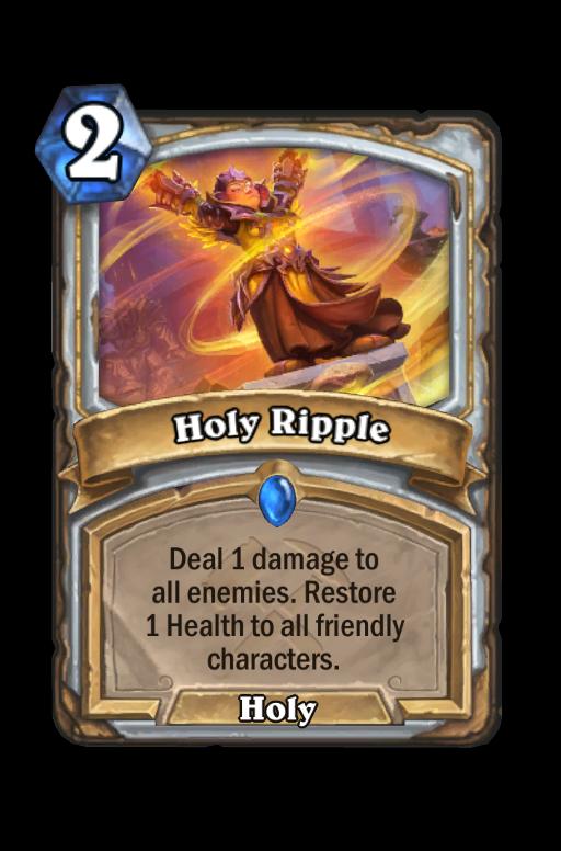 Holy Ripple Hearthstone kártya