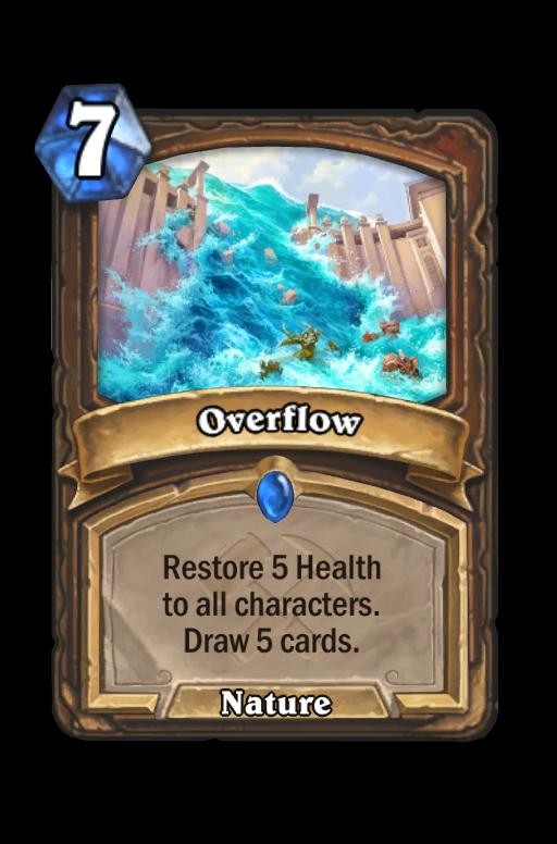 Overflow Hearthstone kártya