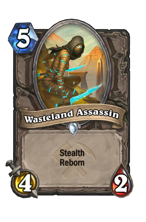 Wasteland Assassin Hearthstone kártya