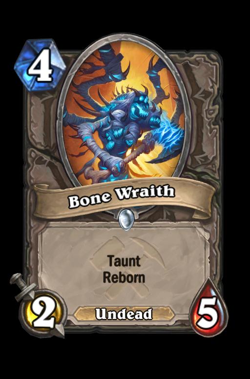 Bone Wraith Hearthstone kártya