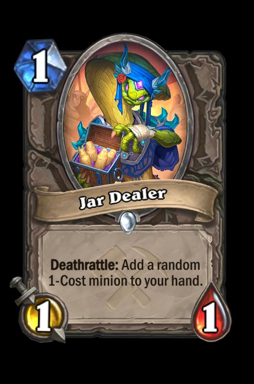 Jar Dealer Hearthstone kártya