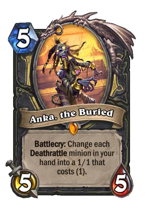 Anka, the Buried Hearthstone kártya