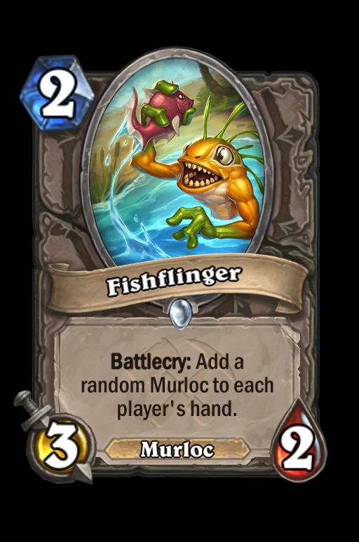 Fishflinger Hearthstone kártya