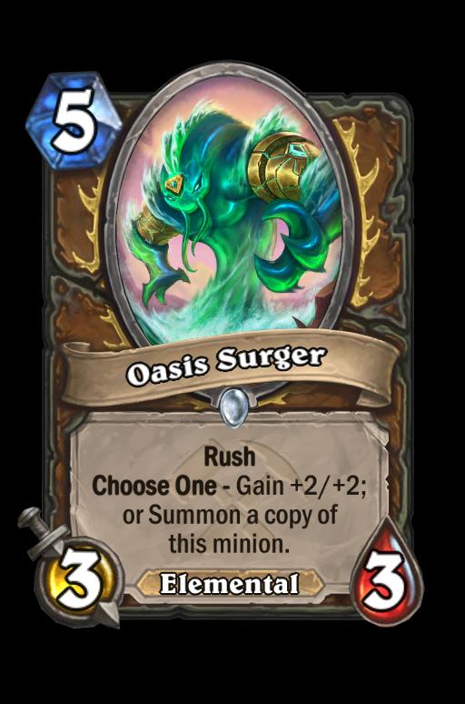 Oasis Surger Hearthstone kártya