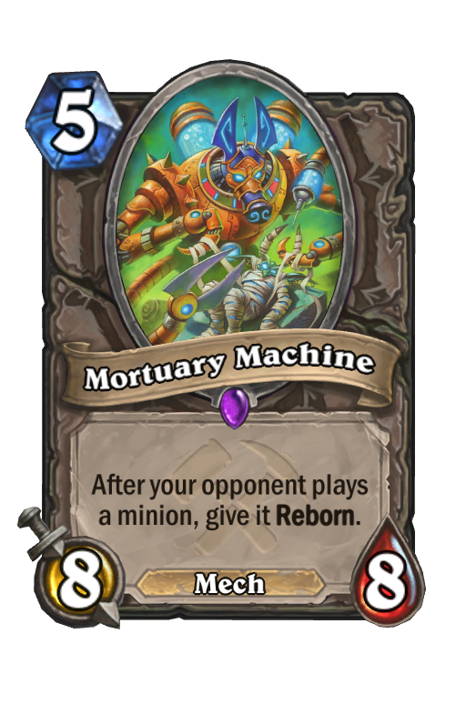 Mortuary Machine Hearthstone kártya