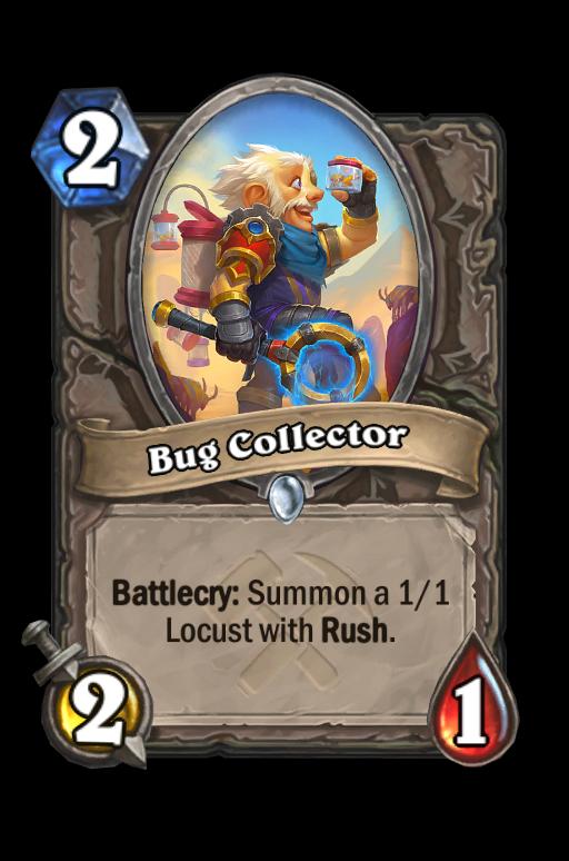 Bug Collector Hearthstone kártya