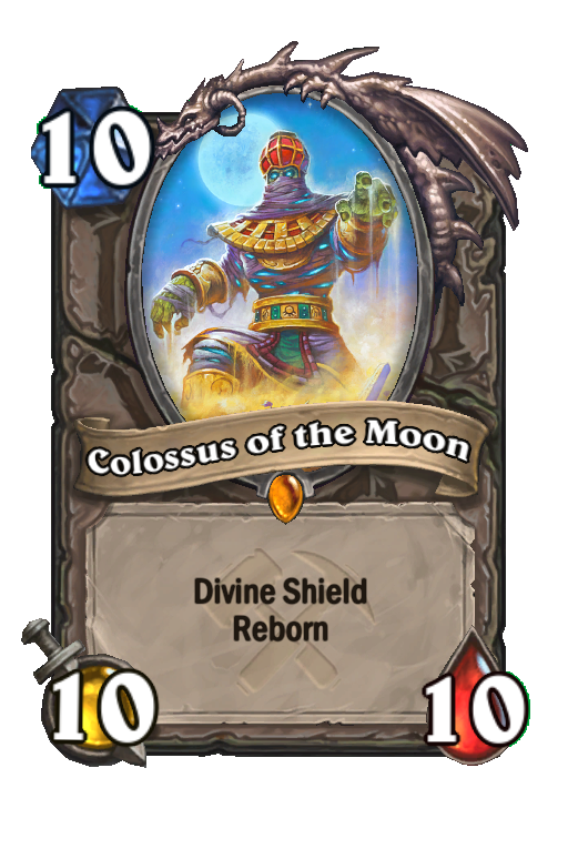 Colossus of the Moon Hearthstone kártya