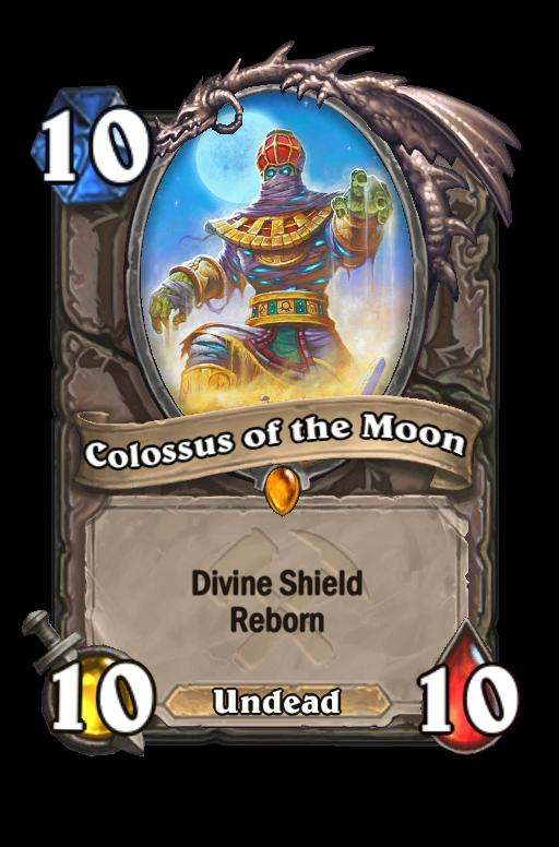 Colossus of the Moon Hearthstone kártya