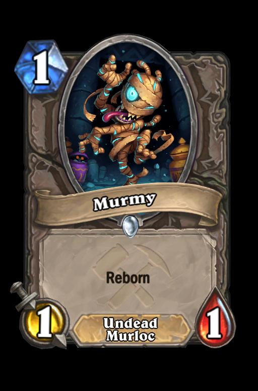 Murmy Hearthstone kártya