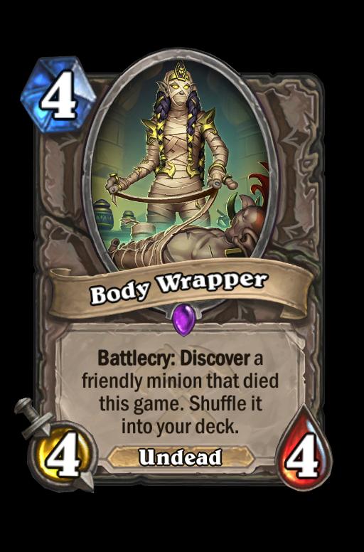 Body Wrapper Hearthstone kártya