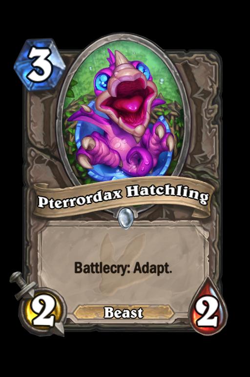 Pterrordax Hatchling Hearthstone kártya