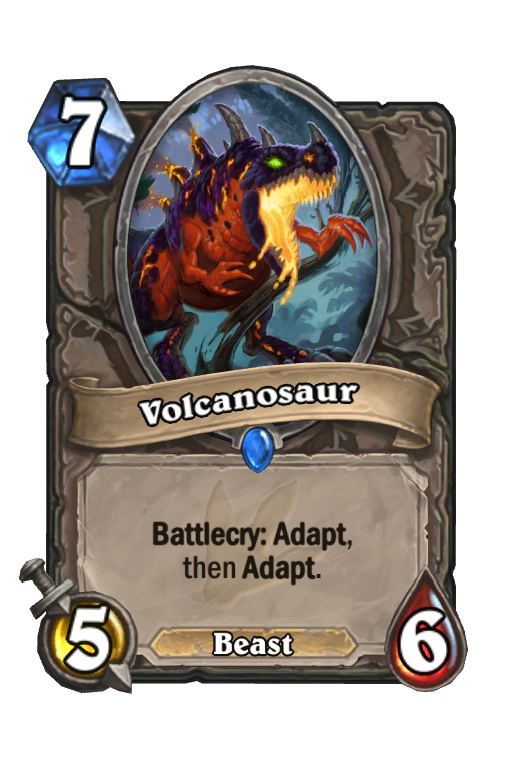 Volcanosaur Hearthstone kártya