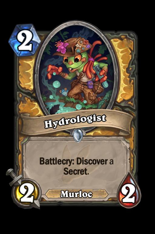 Hydrologist Hearthstone kártya
