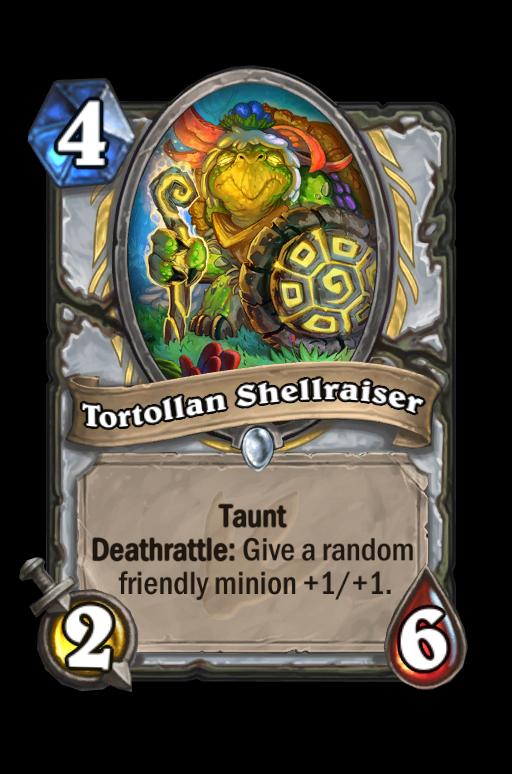Tortollan Shellraiser Hearthstone kártya