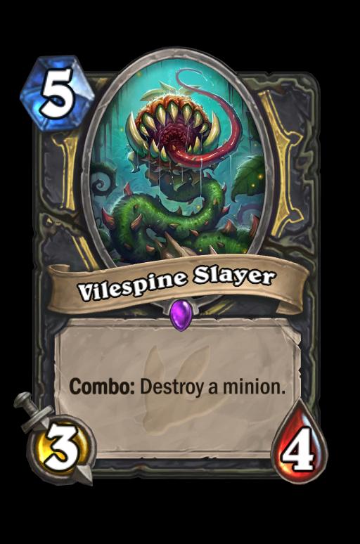 Vilespine Slayer Hearthstone kártya