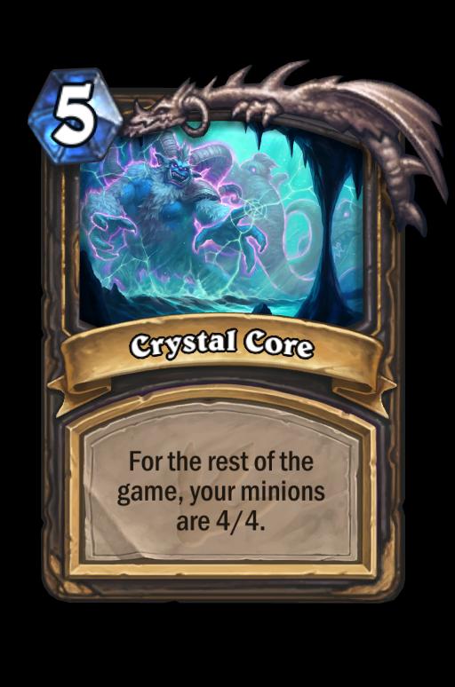 Crystal Core Hearthstone kártya