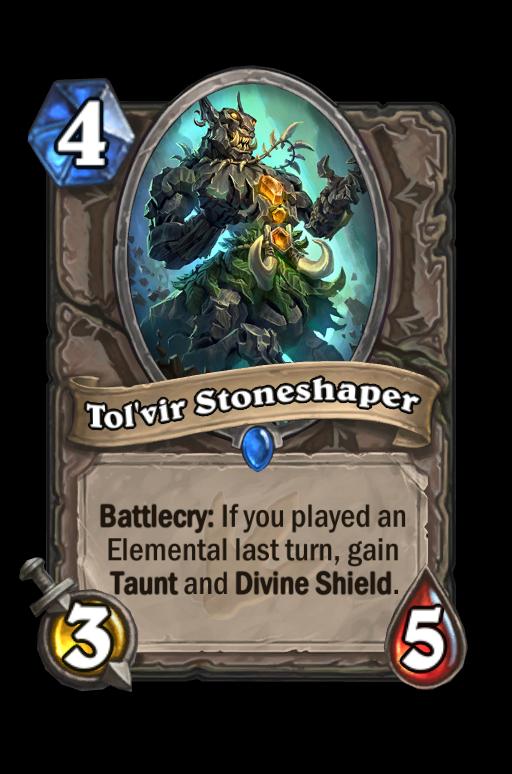 Tol'vir Stoneshaper Hearthstone kártya