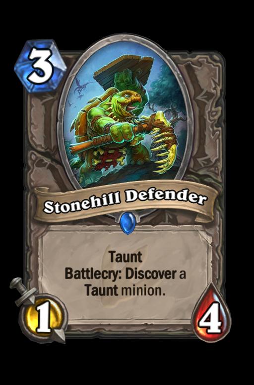 Stonehill Defender Hearthstone kártya