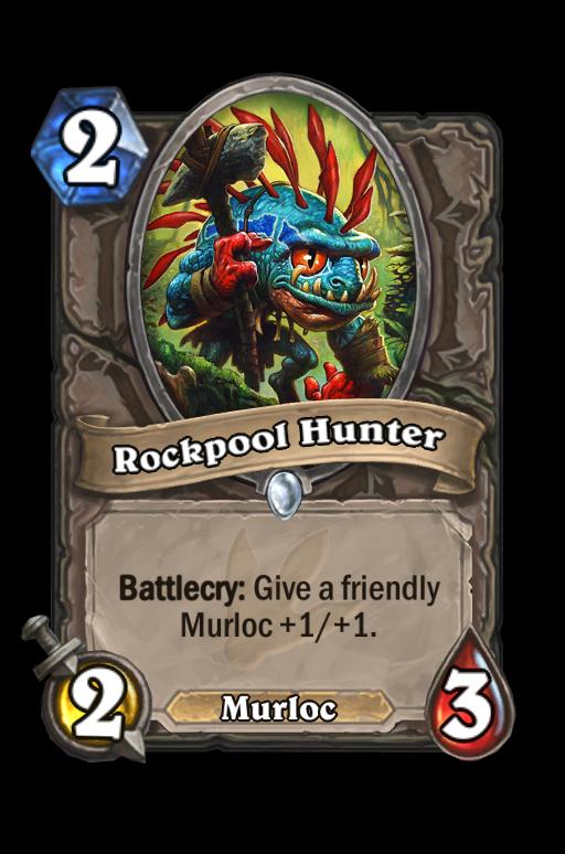 Rockpool Hunter Hearthstone kártya
