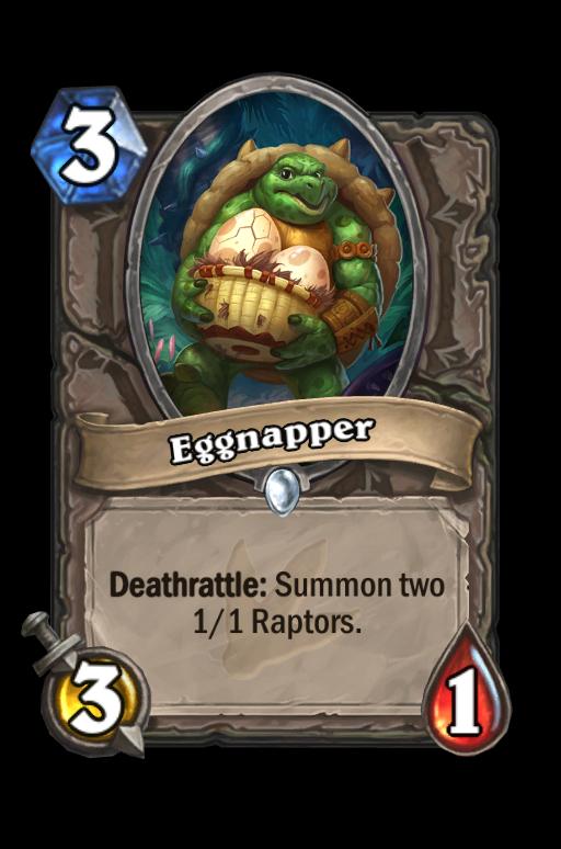 Eggnapper Hearthstone kártya