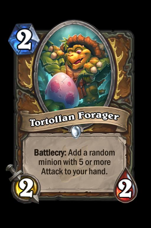 Tortollan Forager Hearthstone kártya