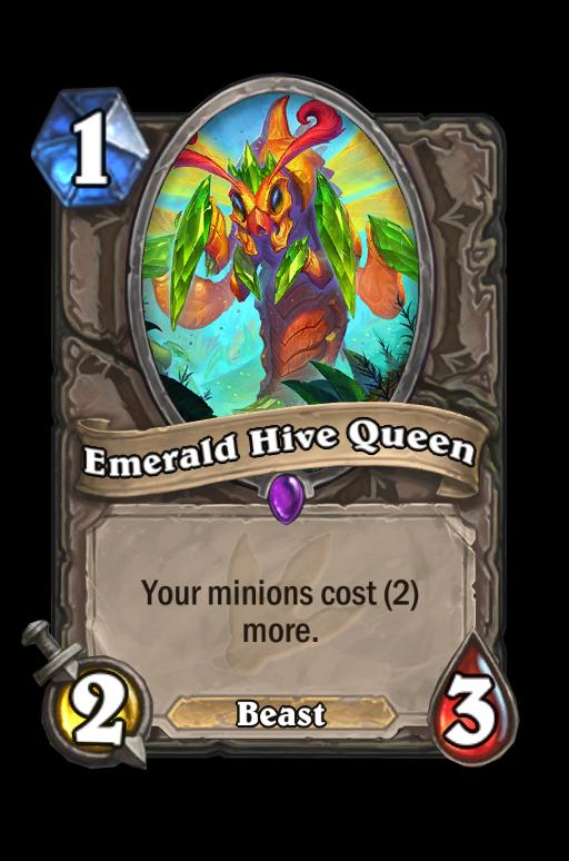 Emerald Hive Queen Hearthstone kártya