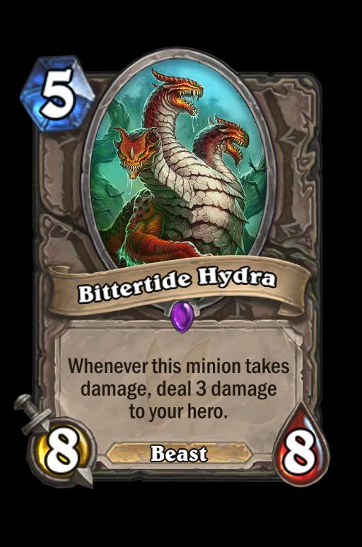 Bittertide Hydra Hearthstone kártya