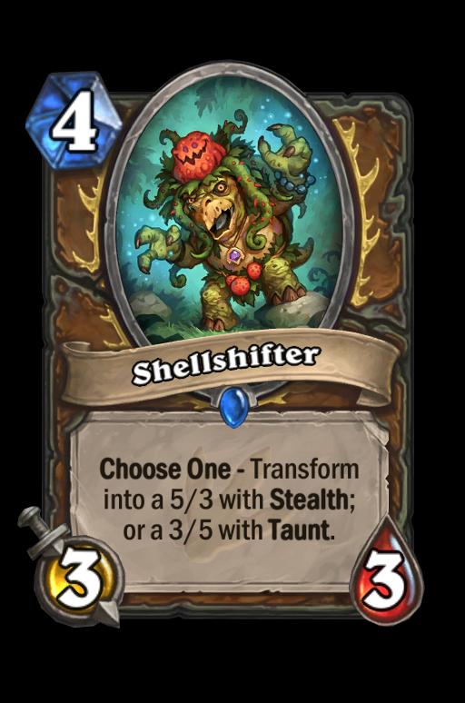 Shellshifter Hearthstone kártya