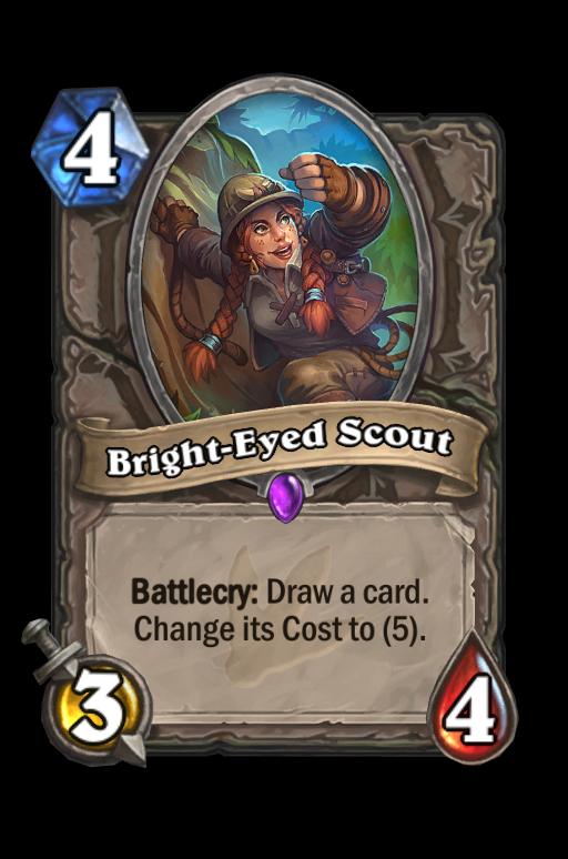 Bright-Eyed Scout Hearthstone kártya